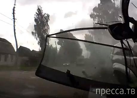 ДТП с участием трех авто в г. Карачев, Брянской области