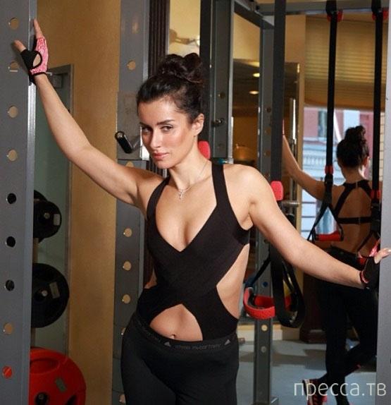 Тина Канделаки произвела фурор в спортивном зале (3 фото)