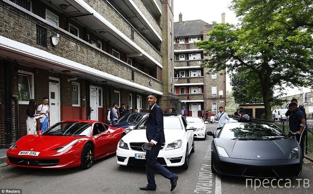 Выпускной в дешевой окраине Лондона (17 фото)