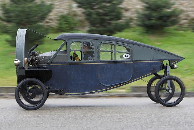 Hélica - автомобиль с пропеллером (4 фото + видео)