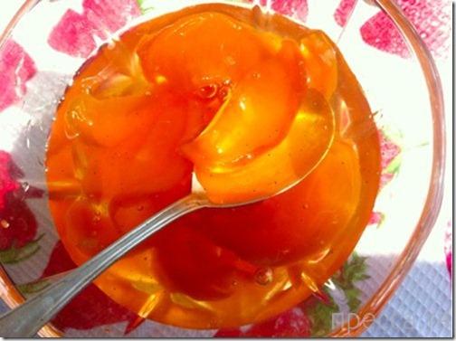 Вкуснятинка: Рецепт быстрого персикового варенья (3 фото)