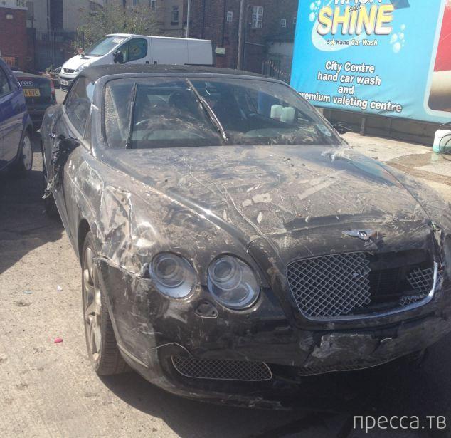 Сколько лет придется трудиться новичку, чтобы отработать Bentley (3 фото)