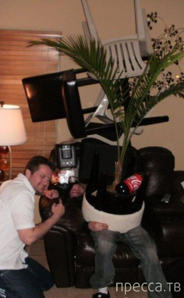Люди, не пейте! Станите посмешищем... Глупые шутки над пьяными друзьями (13 фото)