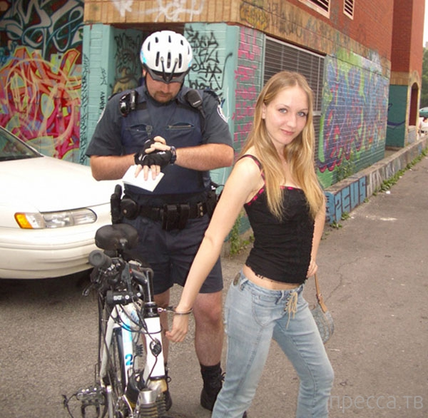 Прикольные фотографии полицейских будней (20 фото)