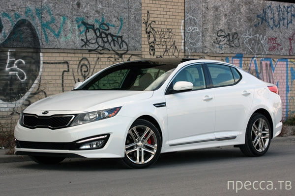 Новинка 2013: Kia Optima SX Limited (11 фото + 2 видео)