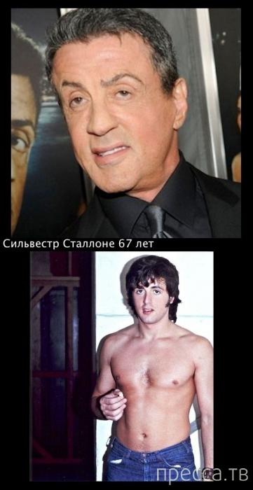 """Как изменились известные актеры. Подборка фотографий """"Тогда и сейчас"""" (15 фото)"""