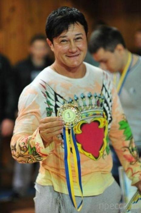 Анна Куркурина - самая сильная женщина в мире (19 фото)