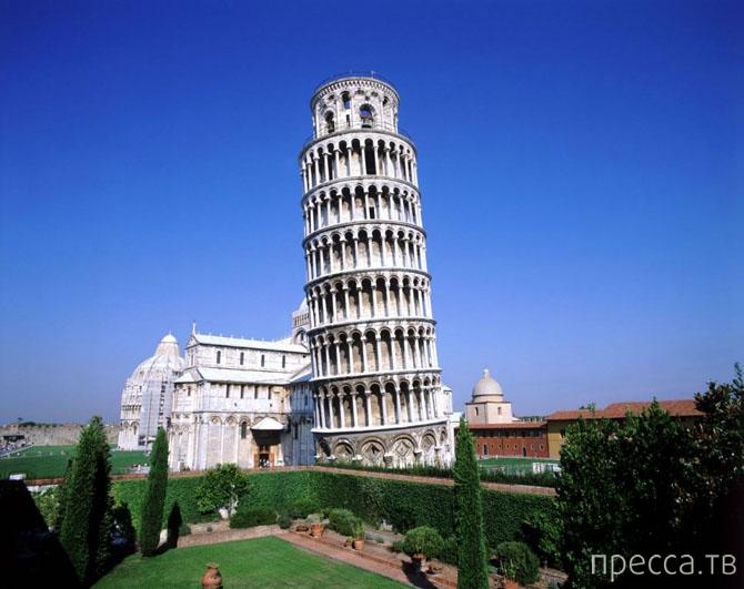Топ 10: Самые известные падающие башни мира (11 фото)