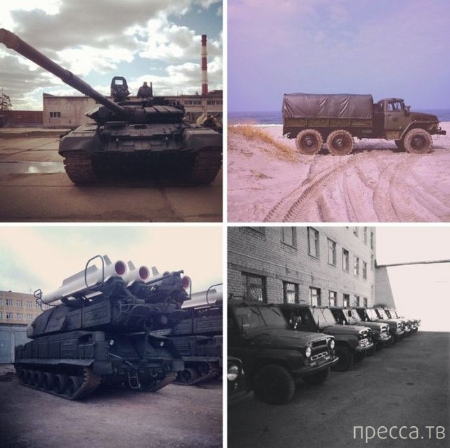 Будни российской армии по фотографиям, опубликованным в Instagram (12 фото)