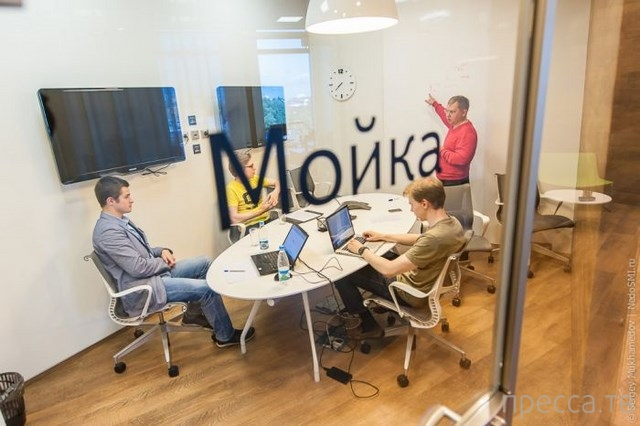 Креативный питерский офис Яндекса (63 фото)