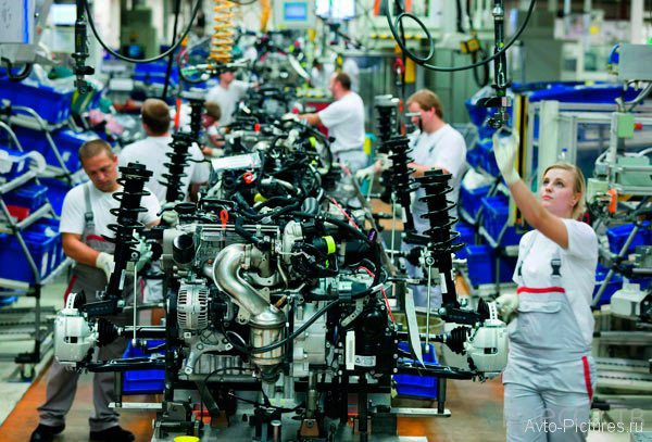 Завод Audi в Ингольштадте (16 фото)