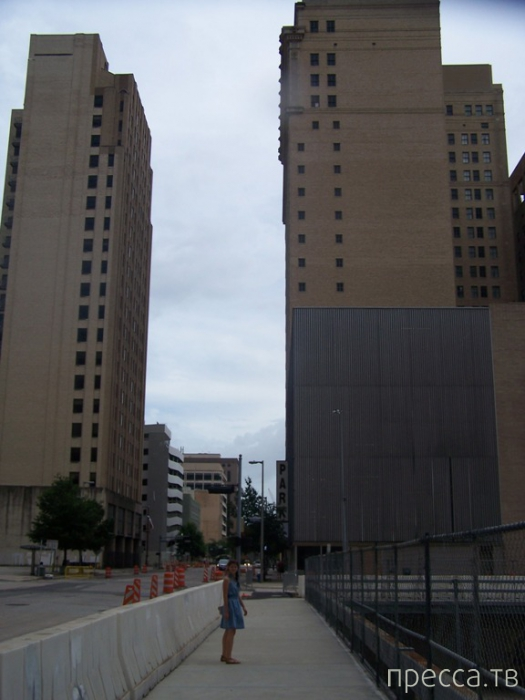 США. Хьюстон, часть I. Величие и безнадёга Даунтауна (18 фото)