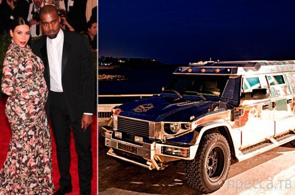Канье Уэст потратил $1,5 млн на авто (3 фото)