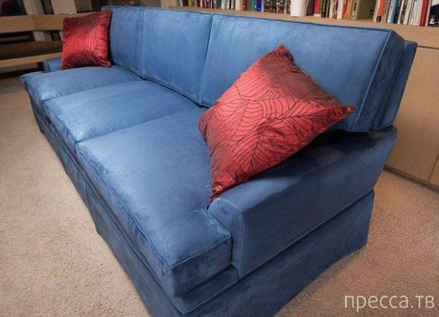 Креативный диван с секретом... (5 фото)