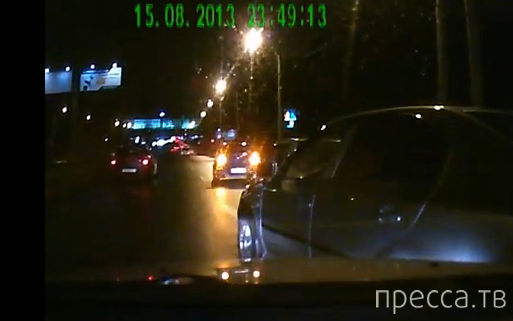"""Водитель """"Рено"""" внезапно затормозил... ДТП """"паровозиком"""" на проспекте Испытателей, Санкт-Петербург"""