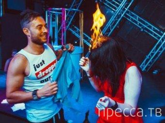 В ночном клубе Воронежа девушке подожгли волосы (фото + видео)