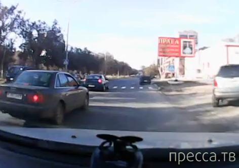 Таксист сбил девочку на переходе... ДТП в Темиртау