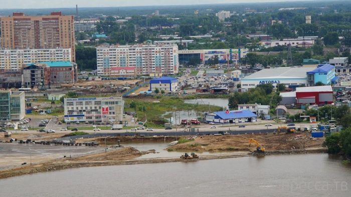 Наводнение в Хабаровском крае - фотографии с вертолета (24 фото)