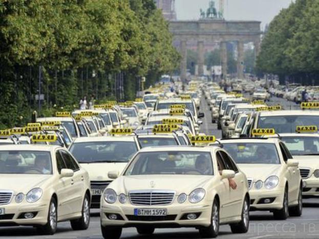 Несколько фактов о такси по всему миру (10 фото)