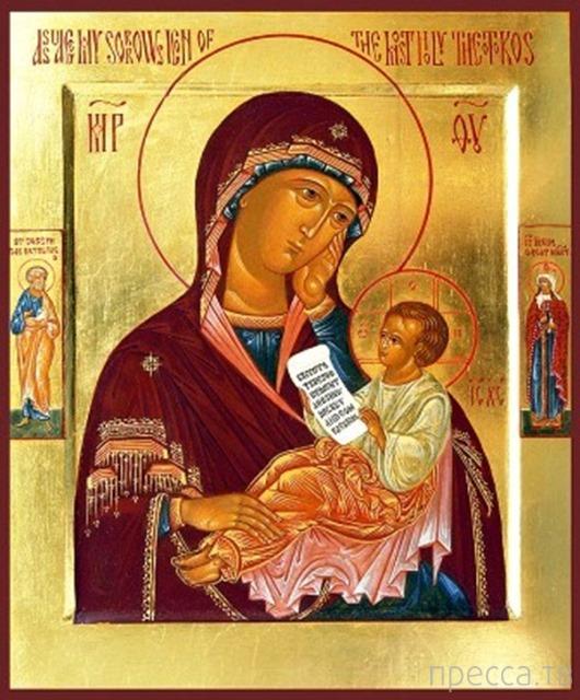 Икона Богородицы «УТОЛИ МОЯ ПЕЧАЛИ» (3 фото)