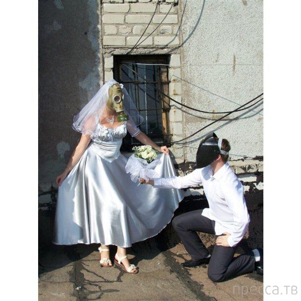 Суровая горловская свадьба (4 фото)