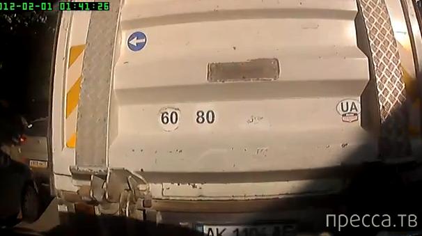 У грузовика на подъеме отказали тормоза... ДТП в Алуште
