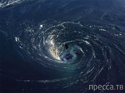 В Атлантическом океане обнаружены таинственные черные дыры