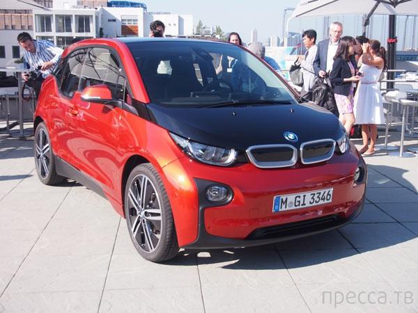 Официальный мировой дебют BMW i3 (19 фото)