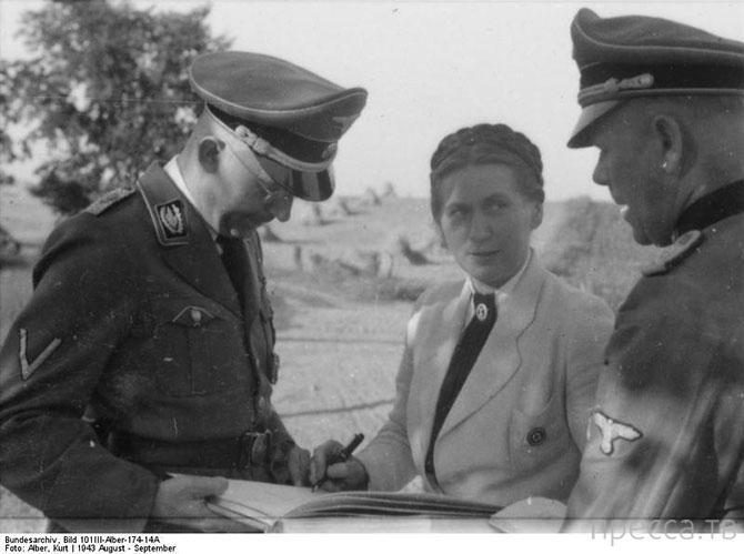 Школа подготовки жён в нацистской Германии (6 фото)