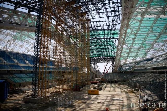 Олимпийский стадион в Сочи (4 фото)