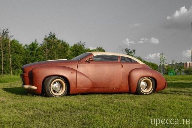 Автомобиль за 88 миллионов рублей, покрыт кожей канадского бизона (10 фото)