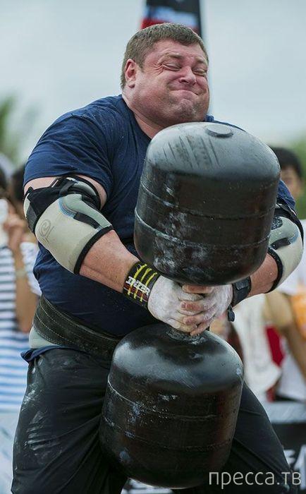 Брайан Шоу - самый сильный человек на Земле (15 фото)