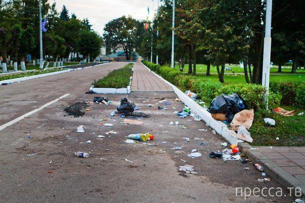 Жители Солнечногорска отметили день города с размахом (10 фото)