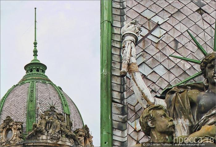 Статуя Свободы на Украине (3 фото)