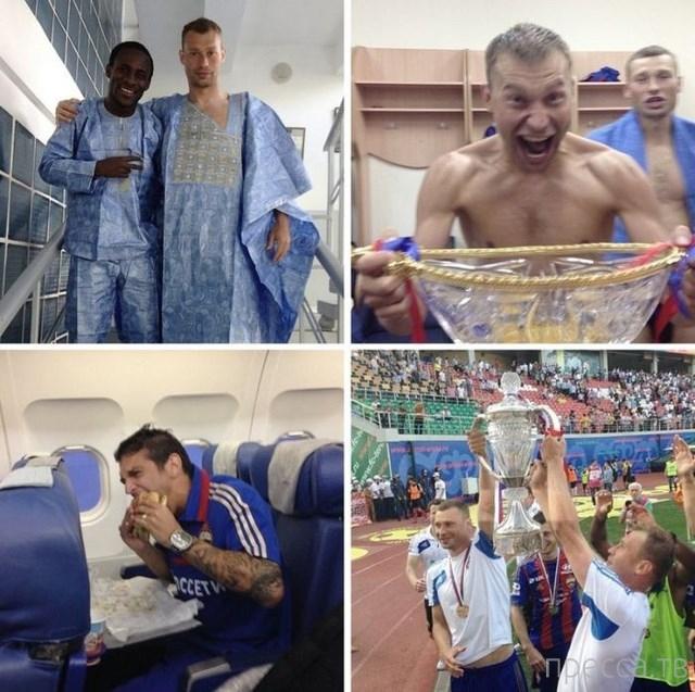 Как отдыхают российские футболисты. Фотографии в Instagram (9 фото)
