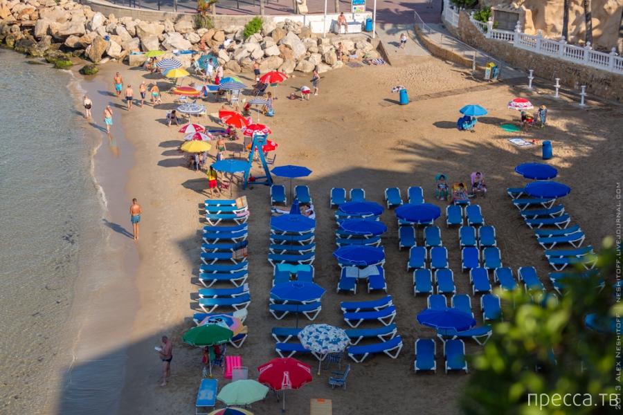 Испания. Бенидорм. Лето круглый год (31 фото)