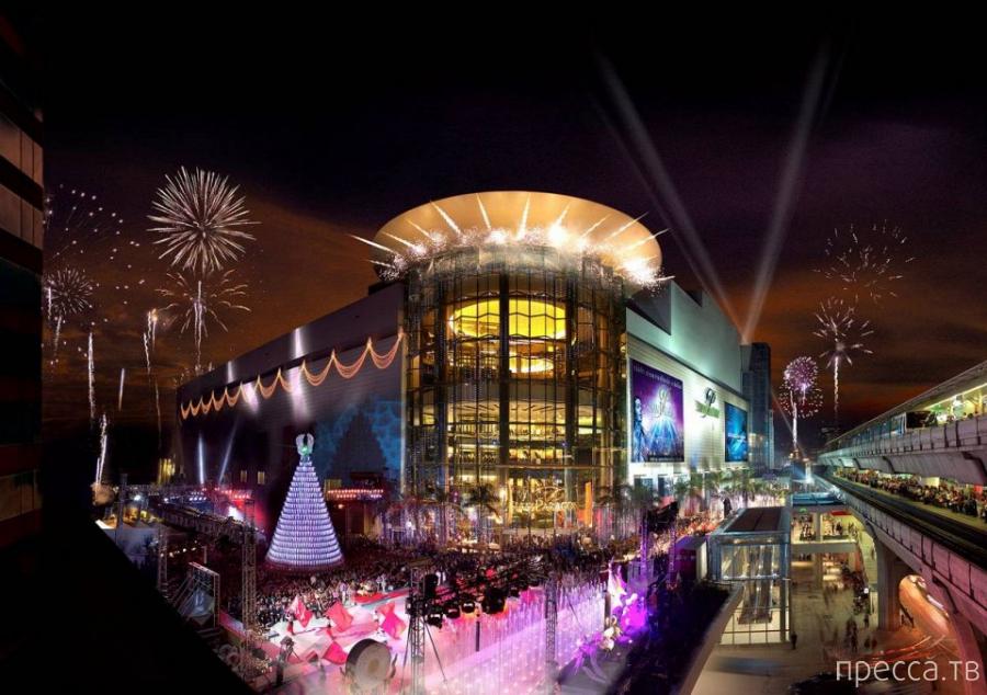 Топ 10: Самые популярные торговые центры мира (11 фото)