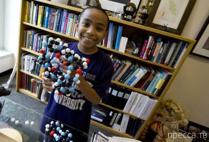 11-летний вундеркинд стал самым молодым студентом Техасского университета (4 фото)