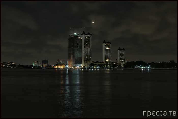 Таиланд. Ночной Бангкок (13 фото)