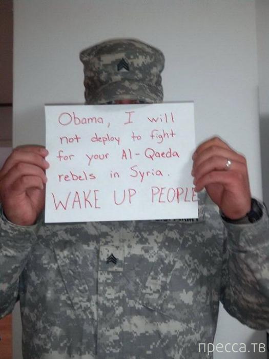 Американские военные отказываются воевать в Сирии (5 фото)