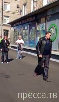Разборки местных алкашей... ул. Варшавская, Санкт-Петербург