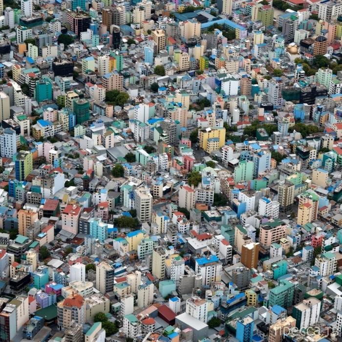 Столица Мальдивской республики - Мале - город посреди океана (23 фото)