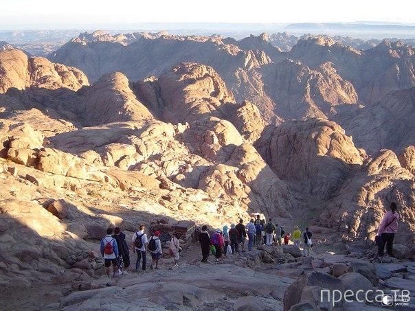Священная гора Синай (9 фото)