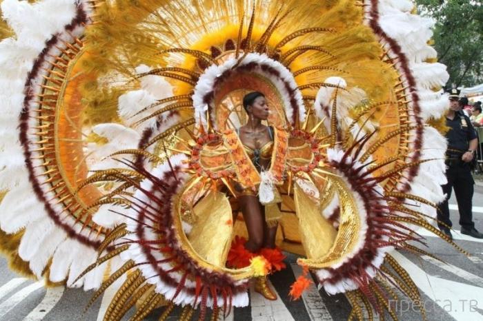 Парад на День труда - американская пародия на бразильский карнавал (20 фото)