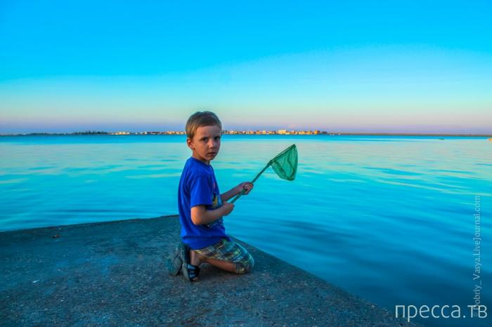 Крым. Сказочный отдых на озере Донузав (22 фото)