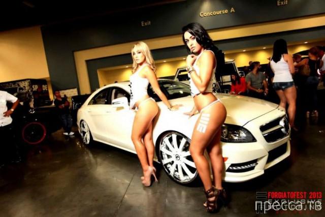 Автомобильный фестиваль Forgiato Fest 2013 в Майами-Бич (25 фото)