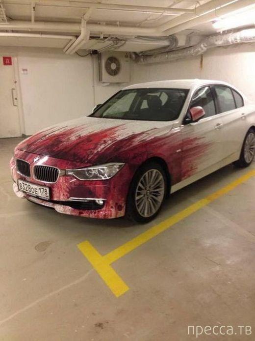 Уникальная винилография BMW (6 фото)
