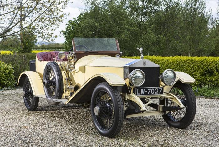 Rolls-Royce с необычной историей (2 фото)