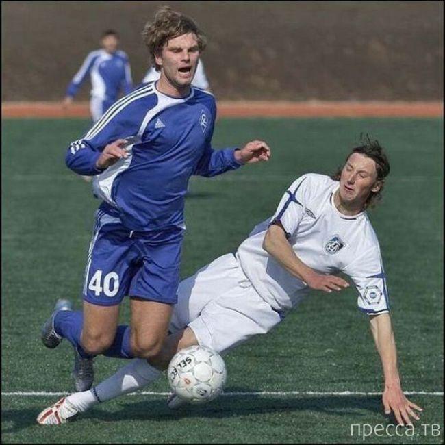Смешные лица в спорте (25 фото)