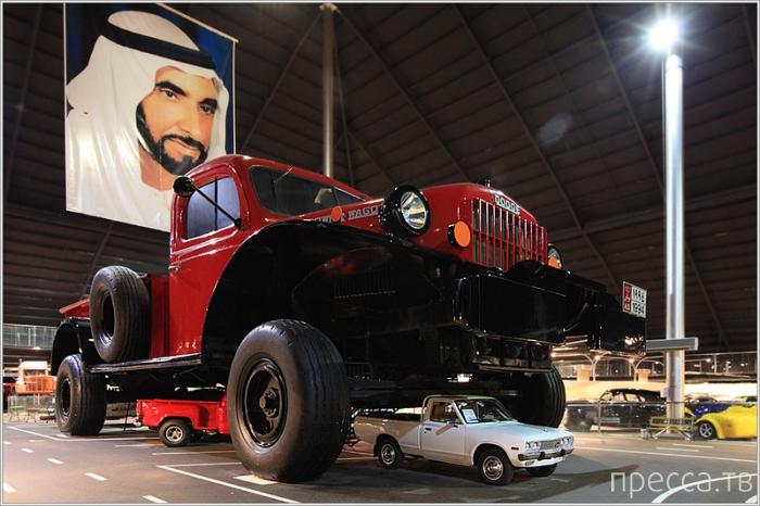 Эмираты. Уникальный музей-гараж шейха Хамада (37 фото)
